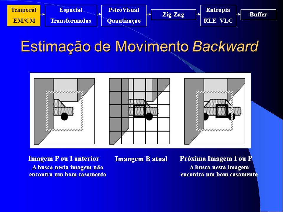 Estimação de Movimento Backward
