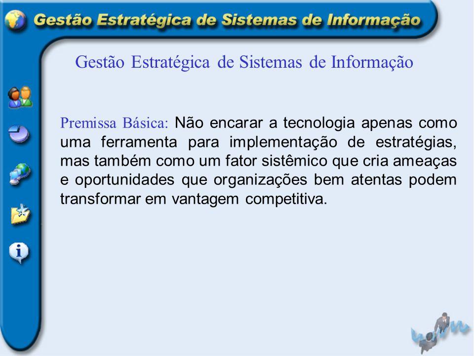 Gestão Estratégica de Sistemas de Informação