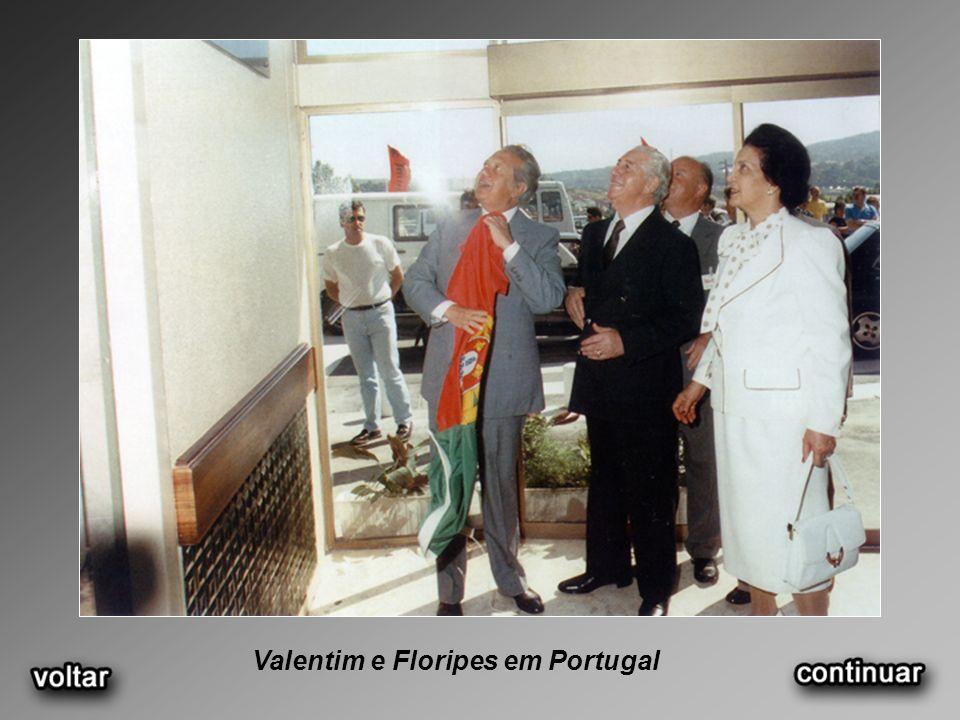 Valentim e Floripes em Portugal