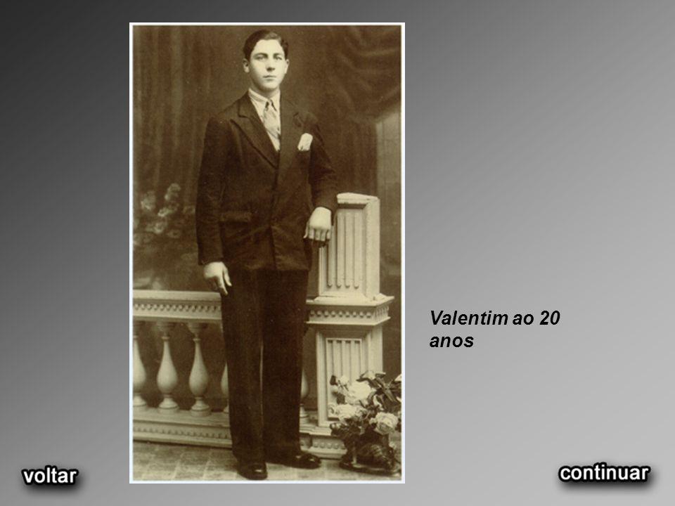 Valentim ao 20 anos