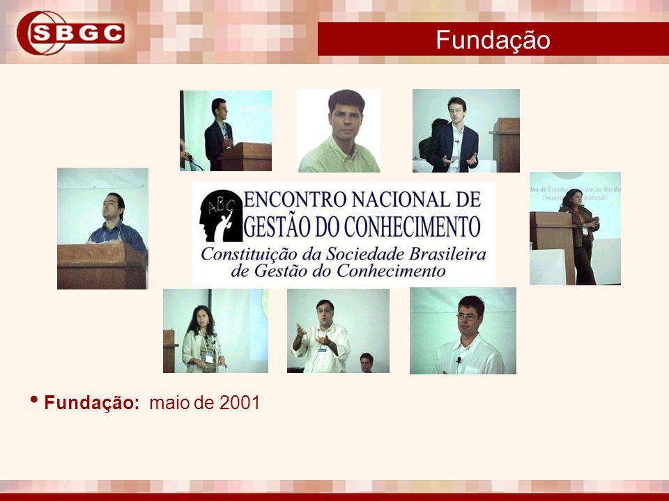 Fundação Fundação: maio de 2001