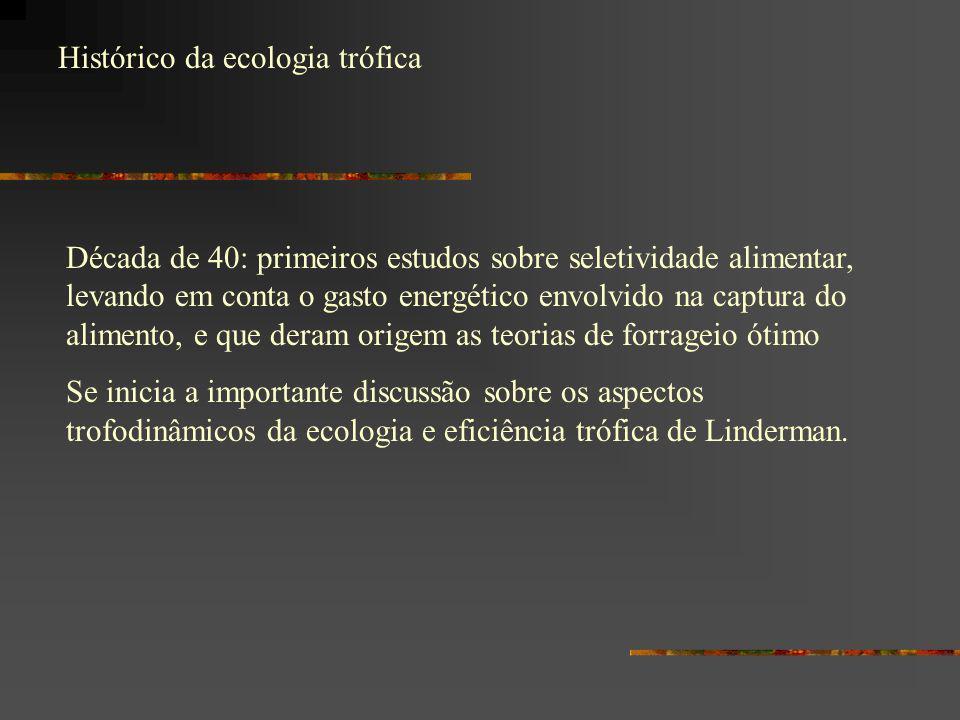 Histórico da ecologia trófica