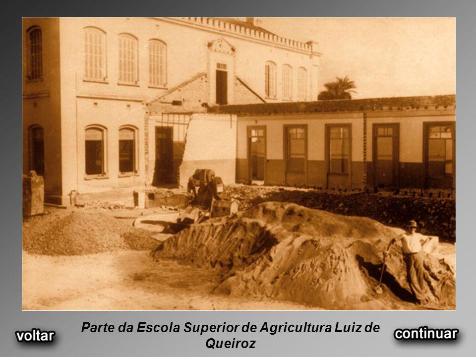 Parte da Escola Superior de Agricultura Luiz de Queiroz