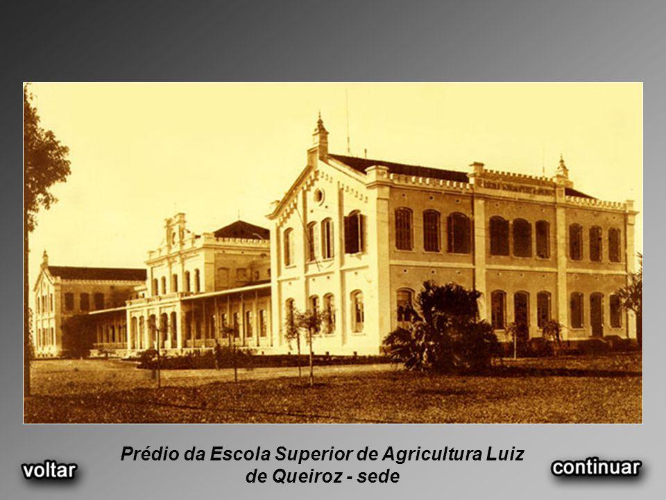 Prédio da Escola Superior de Agricultura Luiz de Queiroz - sede