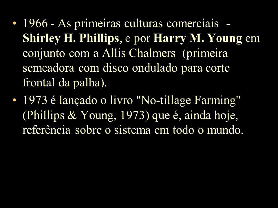 1966 - As primeiras culturas comerciais - Shirley H
