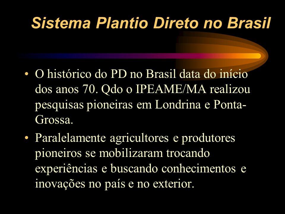 Sistema Plantio Direto no Brasil