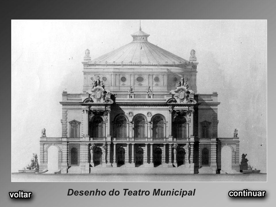 Desenho do Teatro Municipal