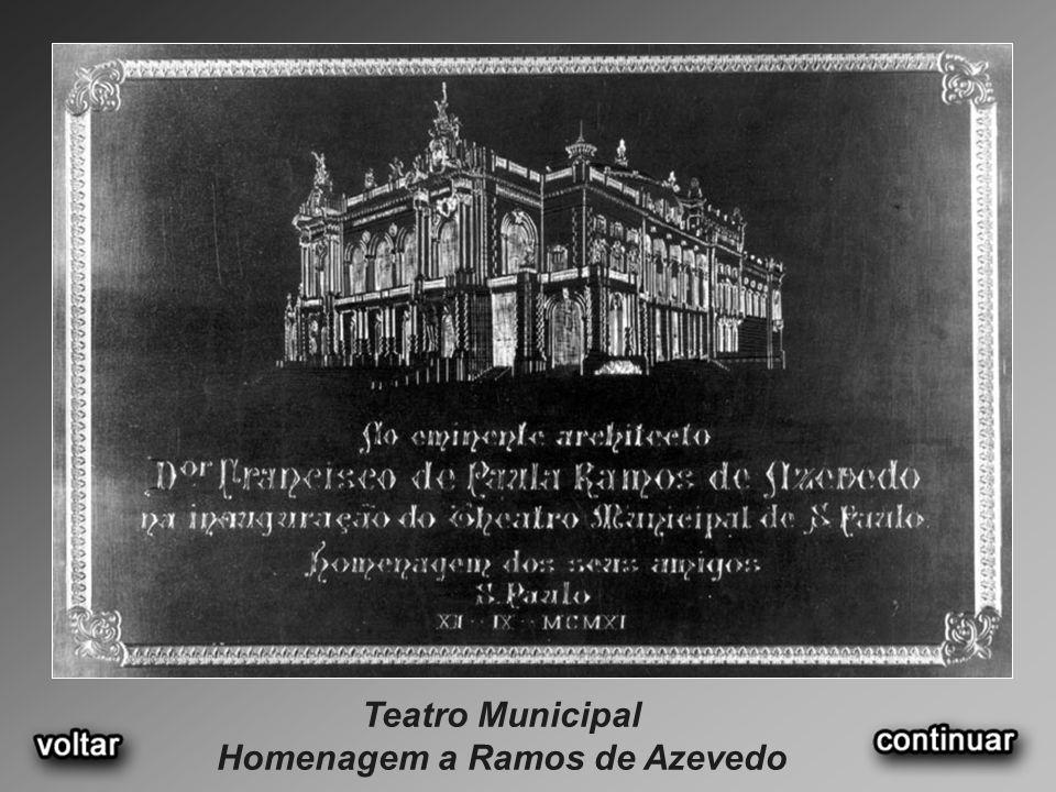 Homenagem a Ramos de Azevedo
