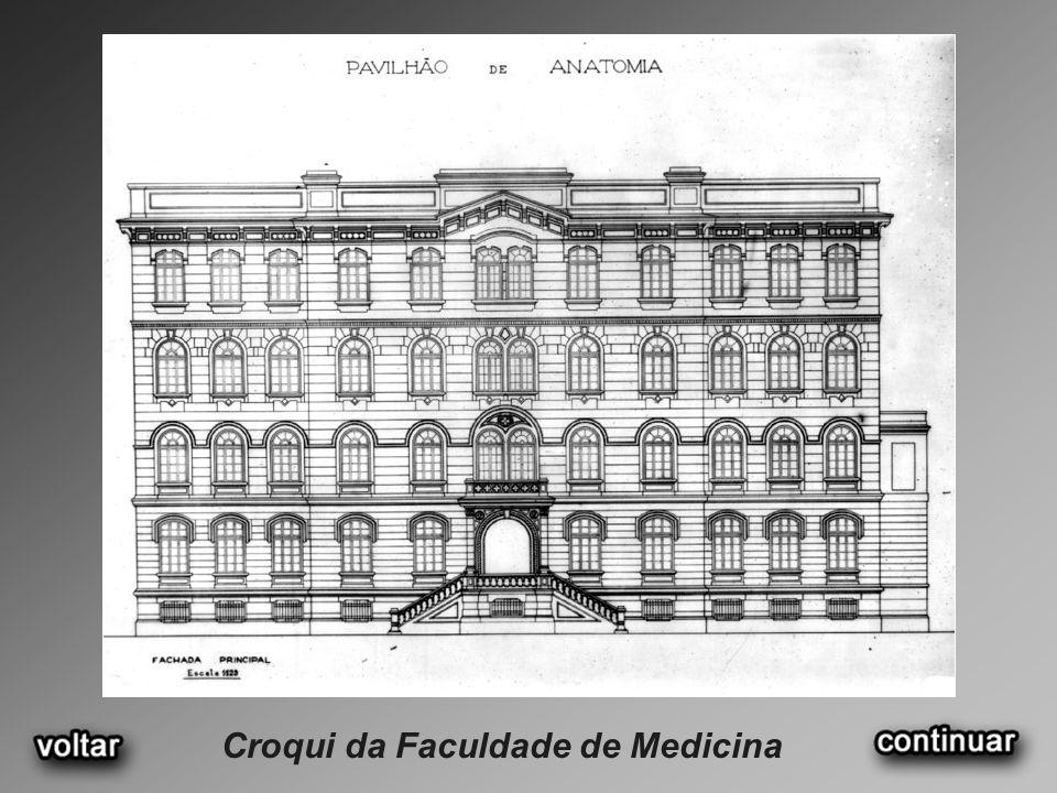 Croqui da Faculdade de Medicina