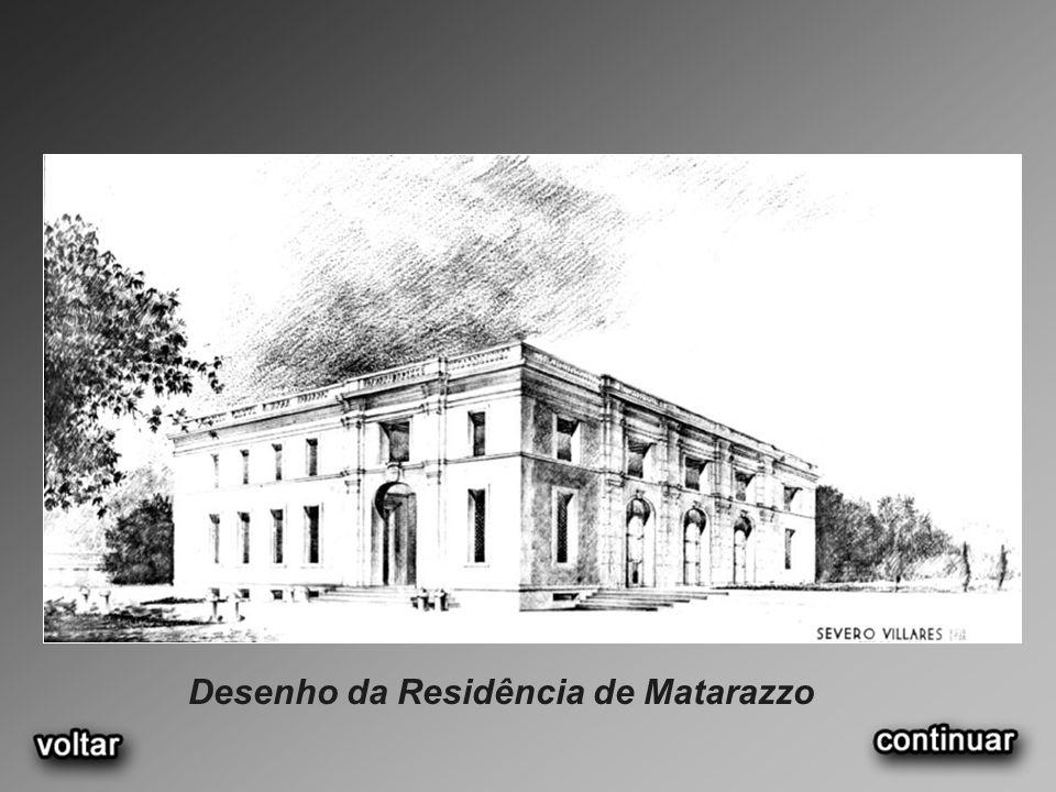 Desenho da Residência de Matarazzo