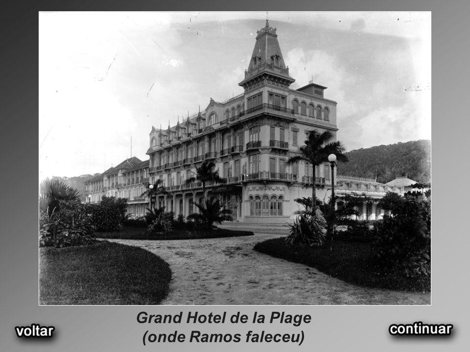 Grand Hotel de la Plage (onde Ramos faleceu)