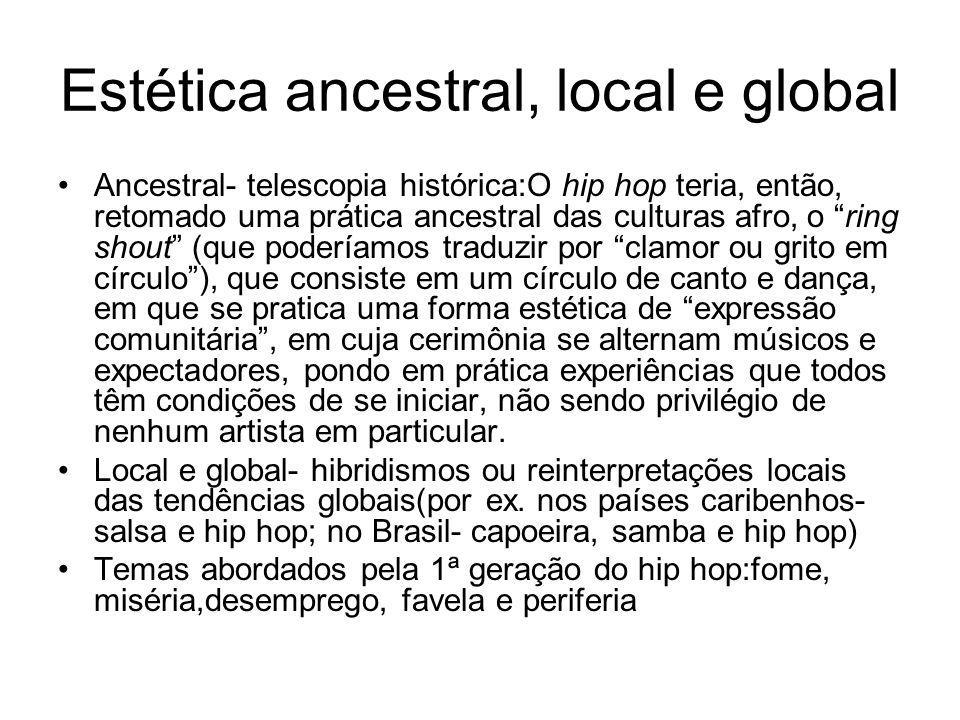 Estética ancestral, local e global