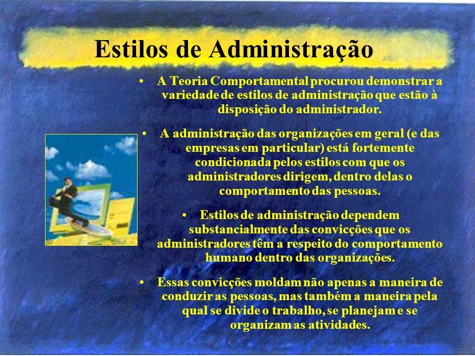Estilos de Administração