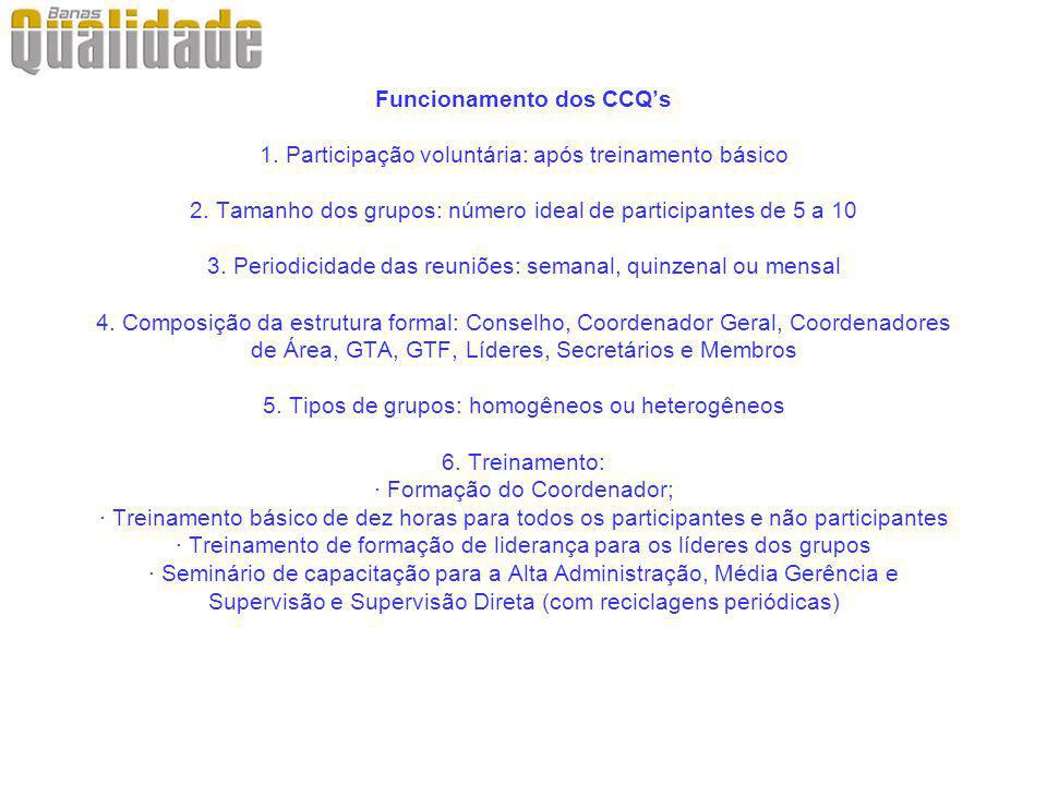 Funcionamento dos CCQ's 1