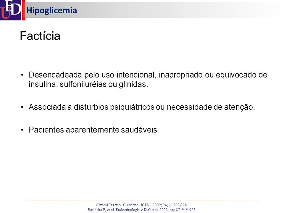 Factícia Hipoglicemia