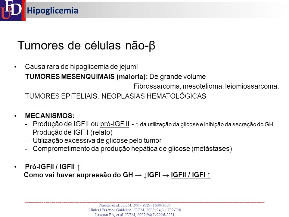 Tumores de células não-β