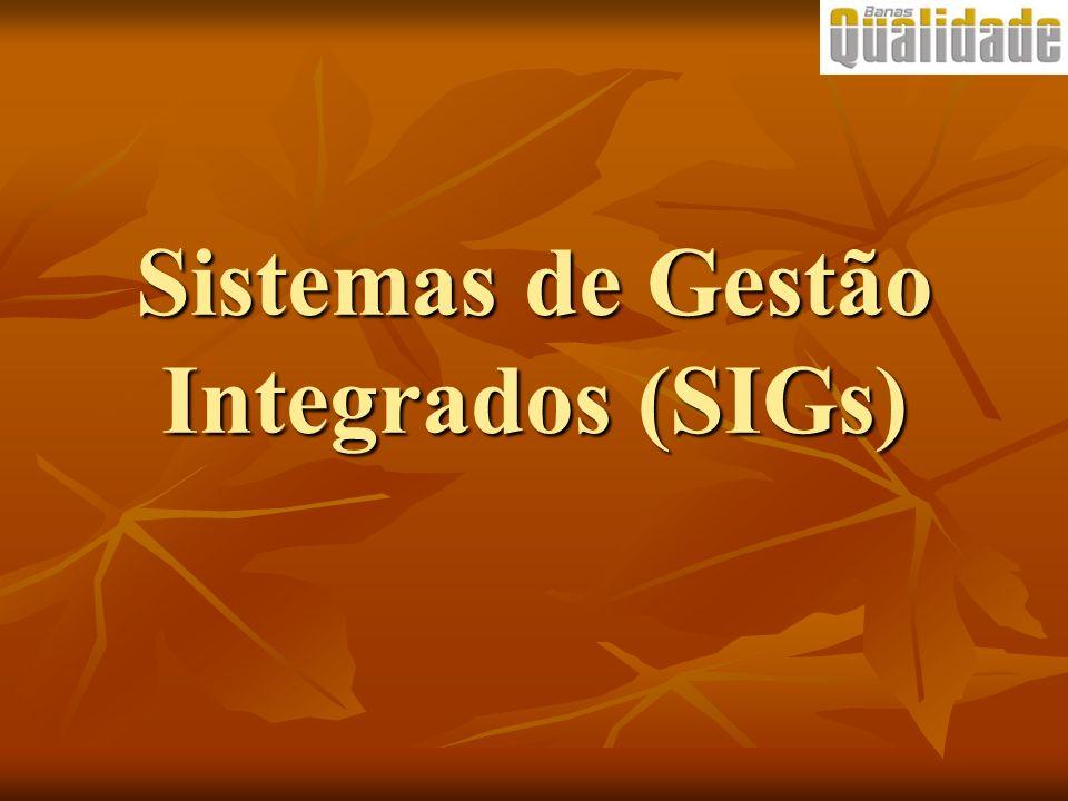 Sistemas de Gestão Integrados (SIGs)