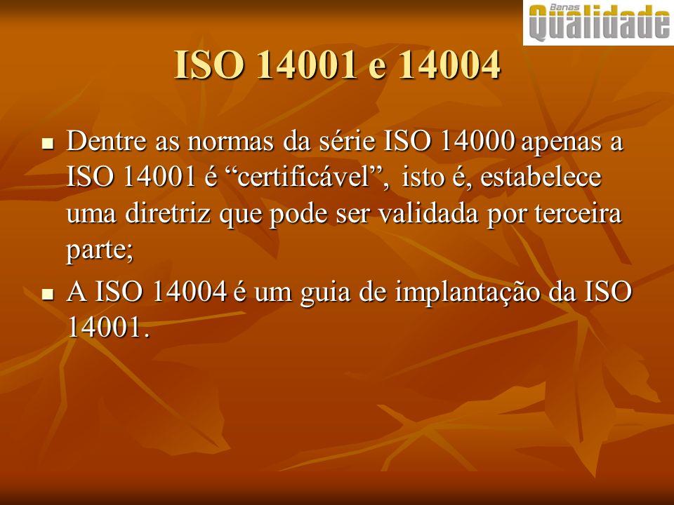 ISO 14001 e 14004
