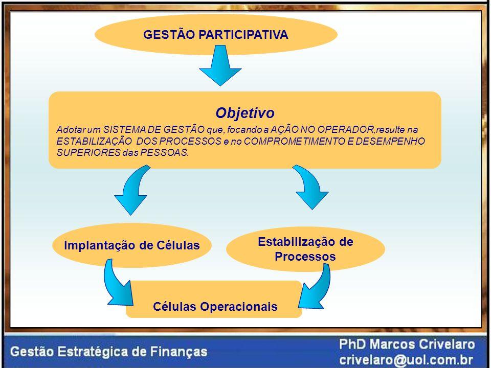 Implantação de Células Estabilização de Processos