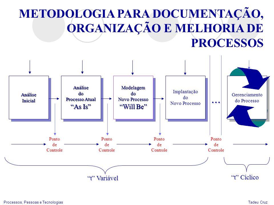 ... METODOLOGIA PARA DOCUMENTAÇÃO, ORGANIZAÇÃO E MELHORIA DE PROCESSOS