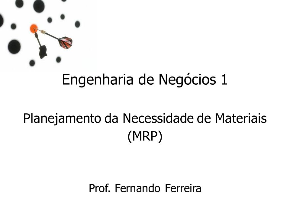 Engenharia de Negócios 1