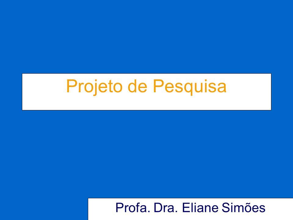 Profa. Dra. Eliane Simões