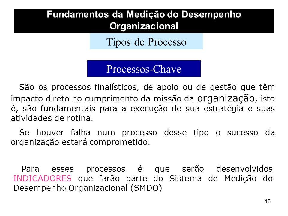 Fundamentos da Medição do Desempenho Organizacional