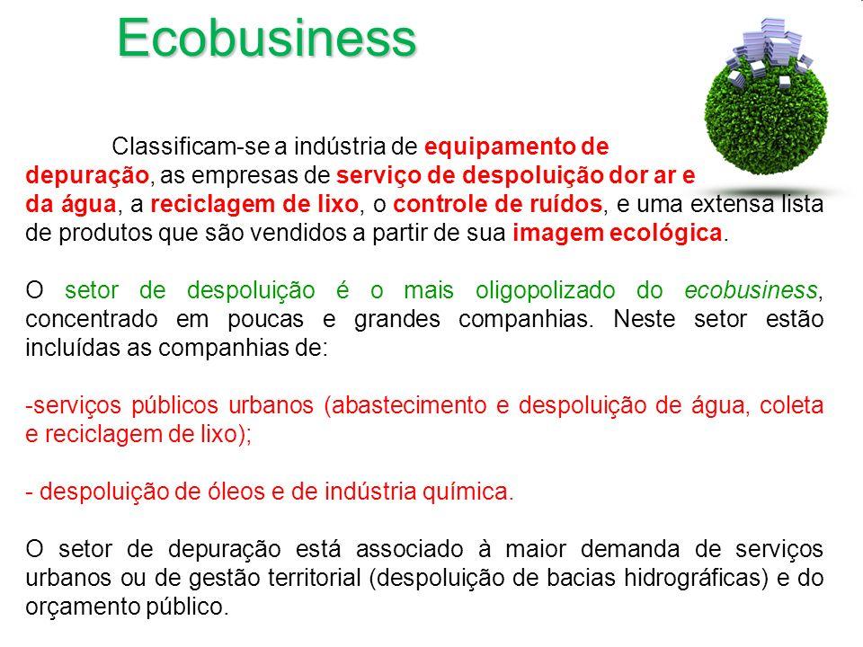 Ecobusiness Classificam-se a indústria de equipamento de