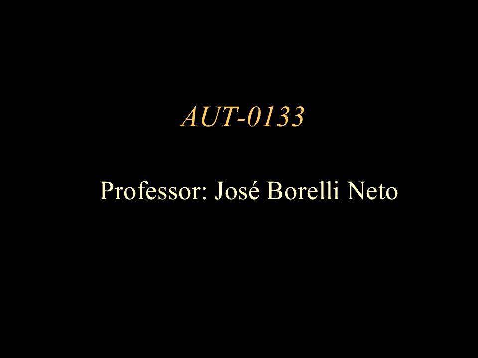 Professor: José Borelli Neto