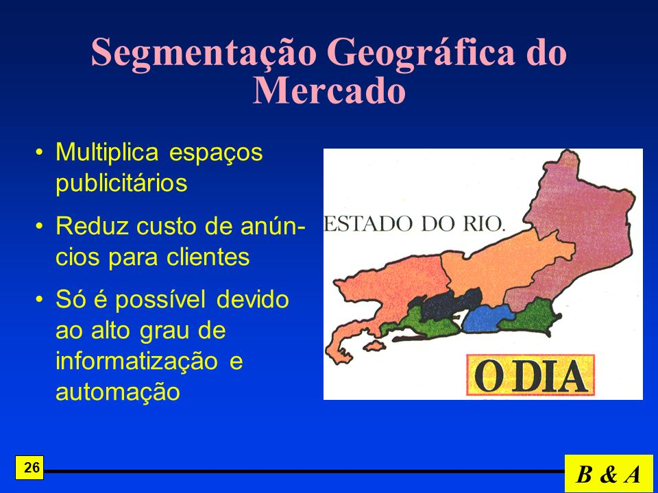 Segmentação Geográfica do Mercado