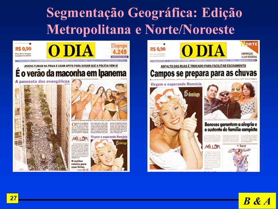 Segmentação Geográfica: Edição