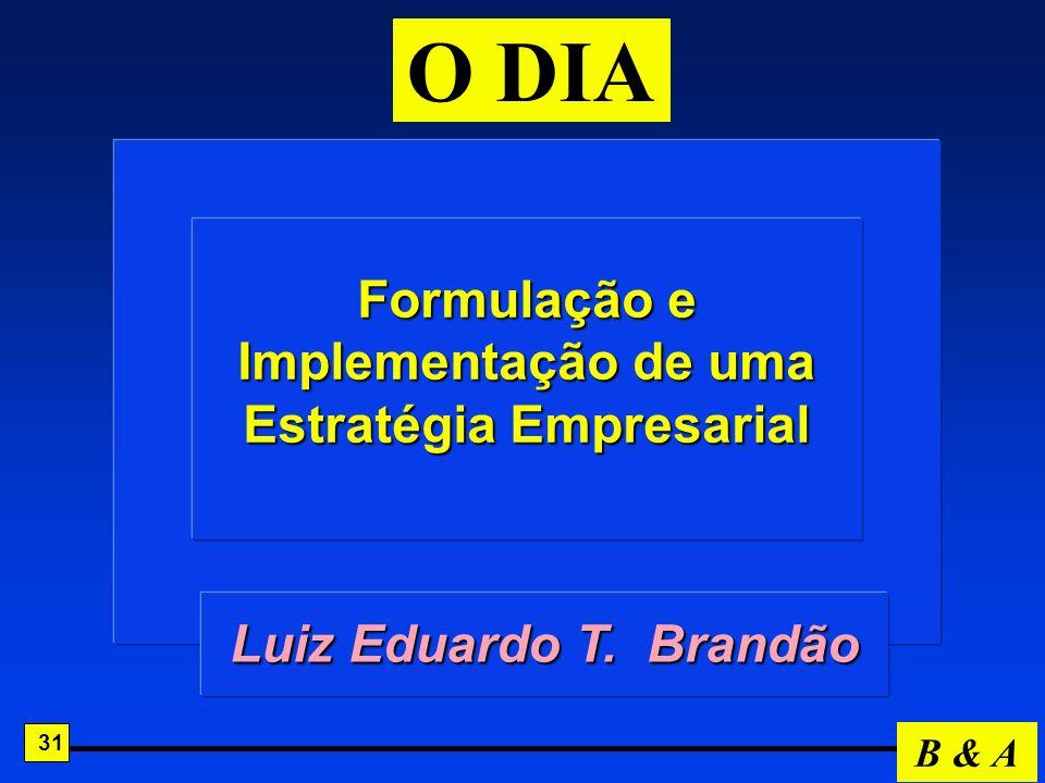 Formulação e Implementação de uma Estratégia Empresarial