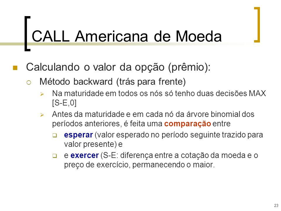 CALL Americana de Moeda