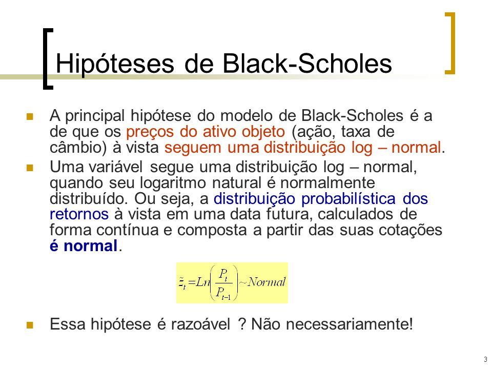 Hipóteses de Black-Scholes