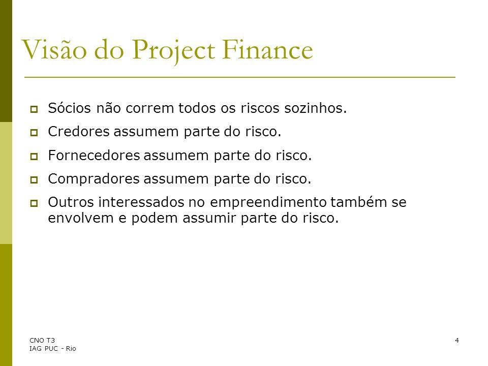 Visão do Project Finance