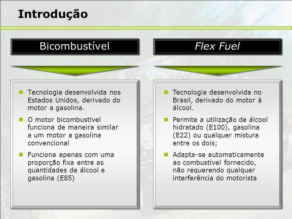 Introdução Bicombustível Flex Fuel