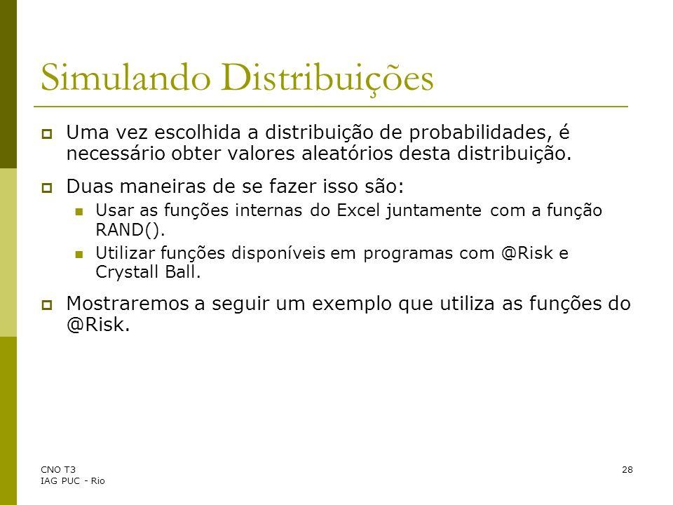 Simulando Distribuições