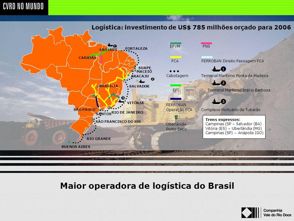 Maior operadora de logística do Brasil