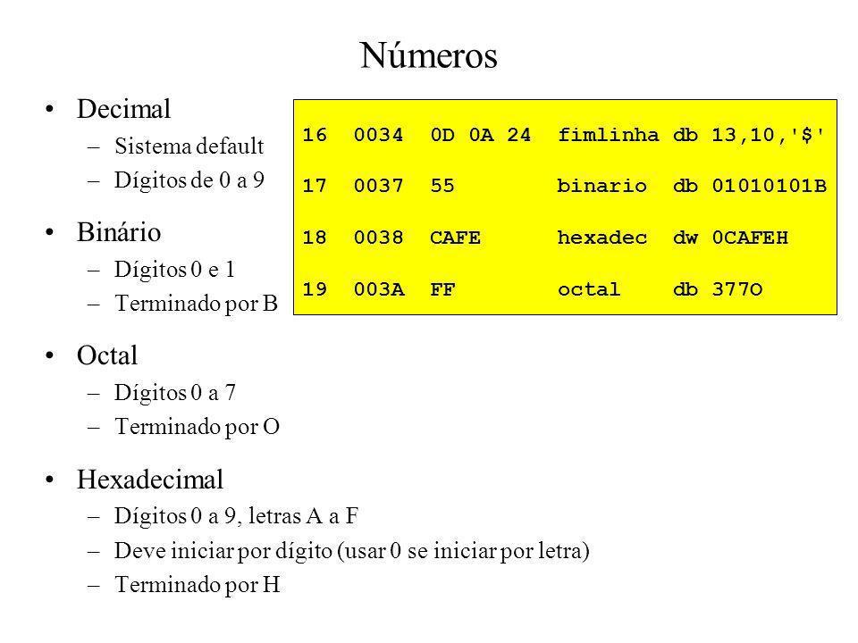 Números Decimal Binário Octal Hexadecimal Sistema default