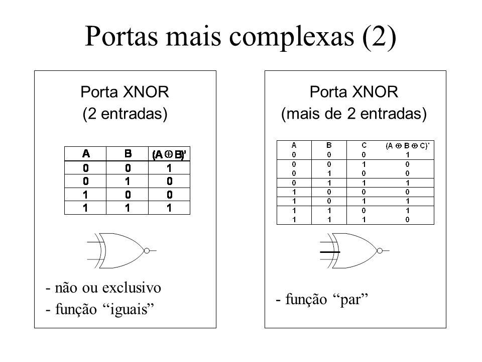 Portas mais complexas (2)