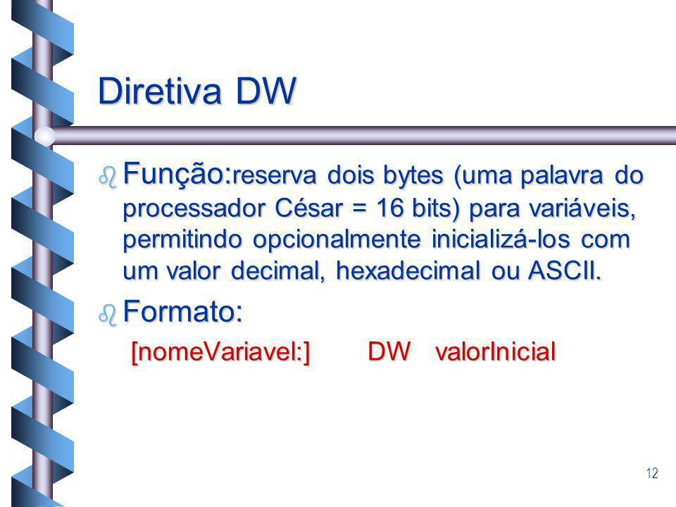 Diretiva DW