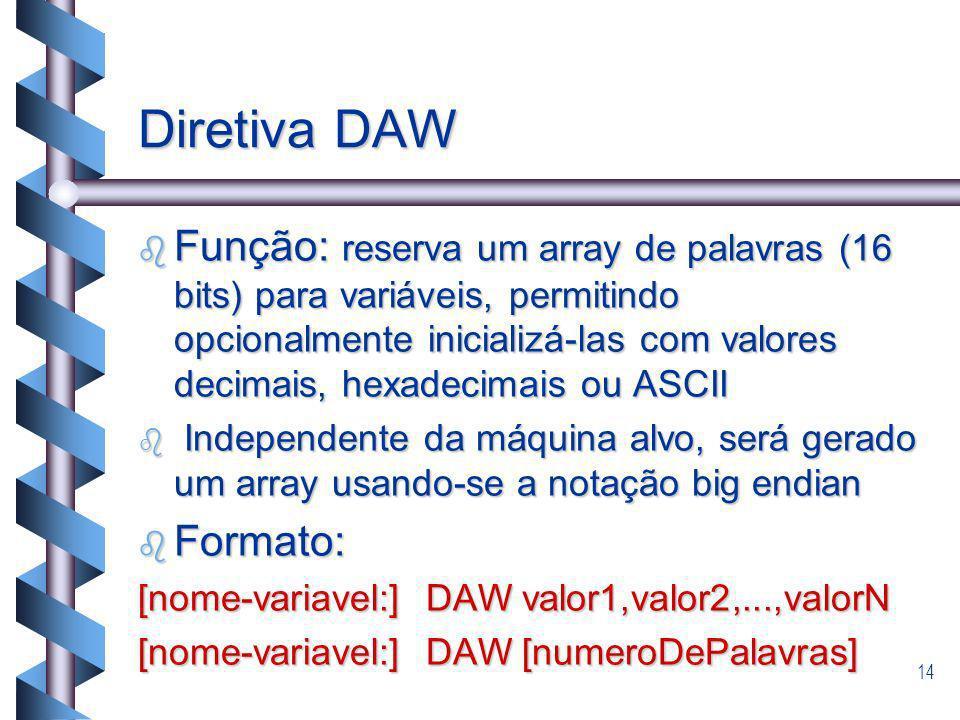Diretiva DAW