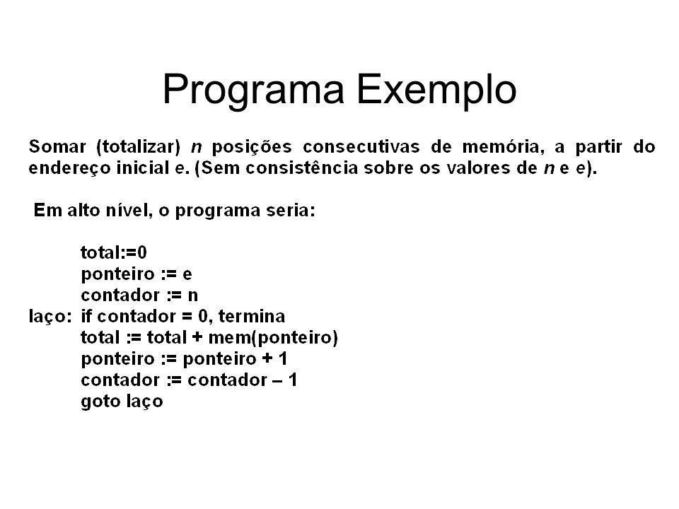 Programa Exemplo