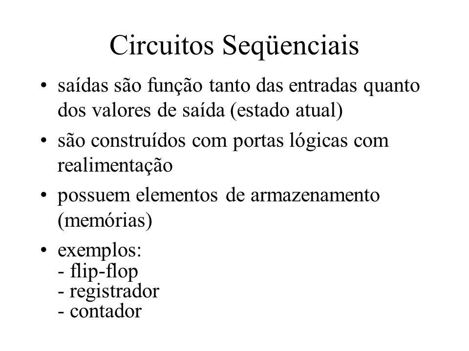Circuitos Seqüenciais