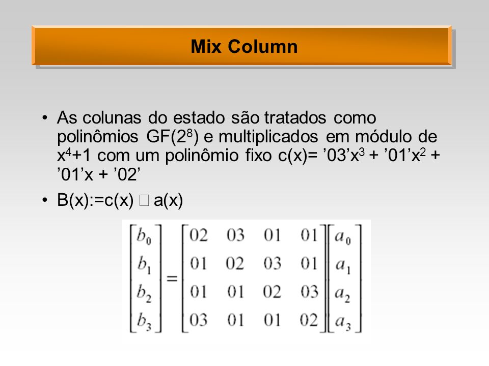 Mix Column