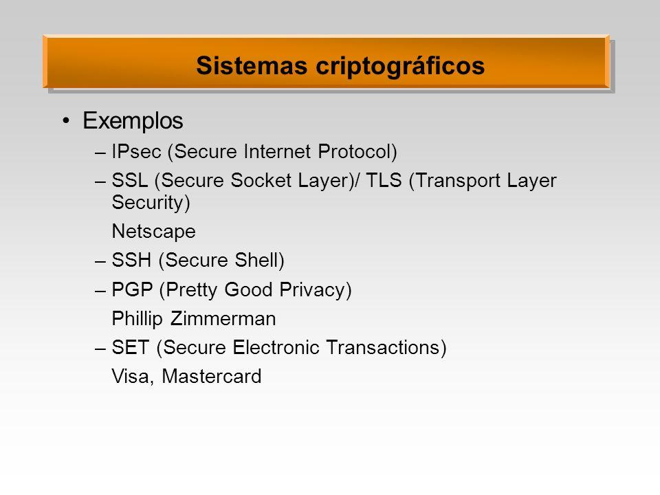 Sistemas criptográficos