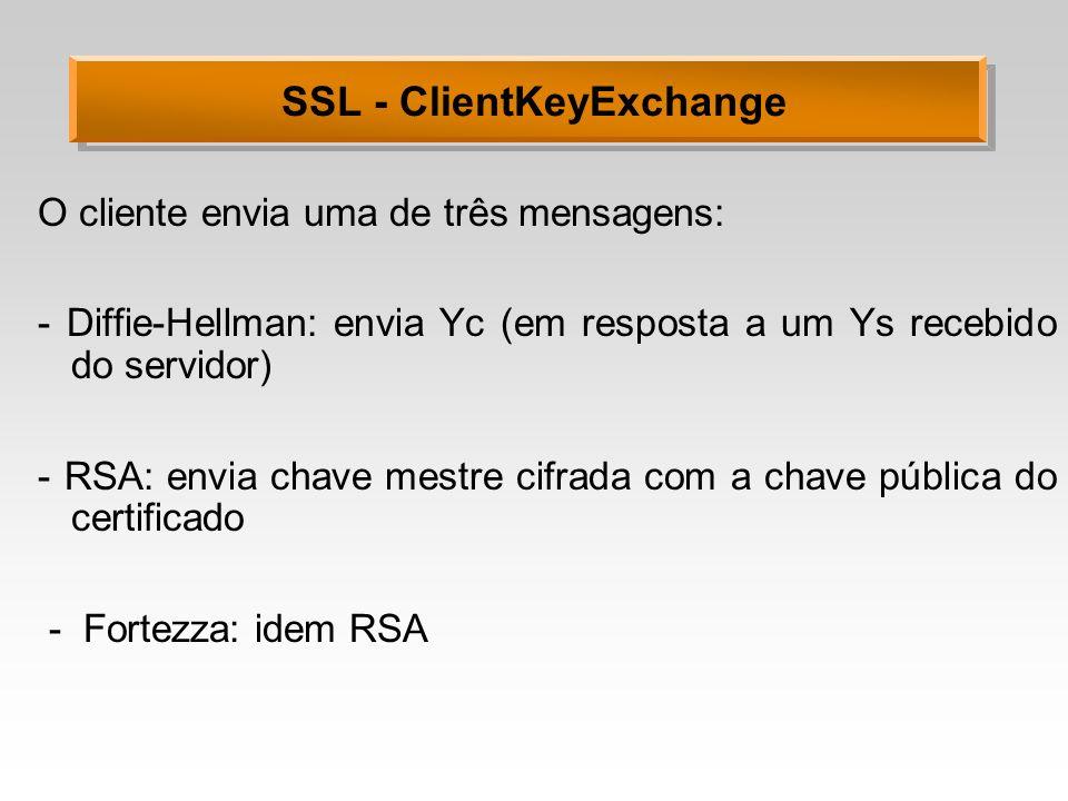 SSL - ClientKeyExchange