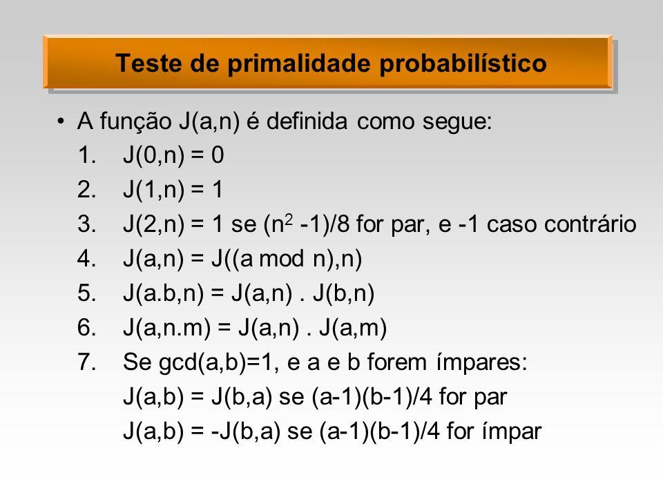 Teste de primalidade probabilístico