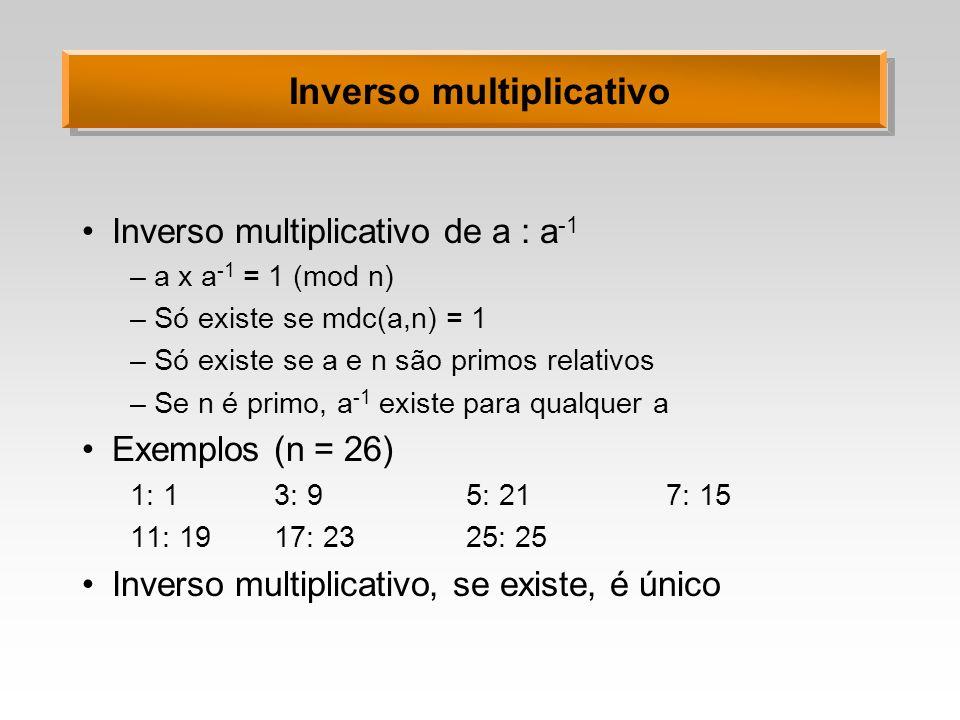 Inverso multiplicativo
