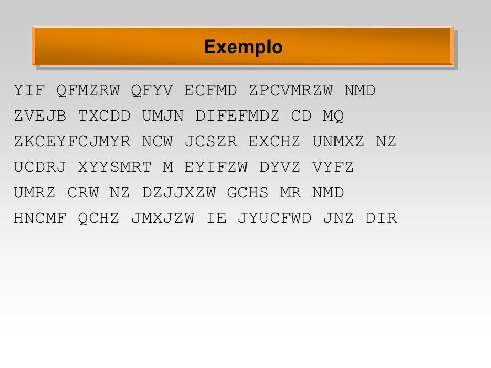 Exemplo YIF QFMZRW QFYV ECFMD ZPCVMRZW NMD